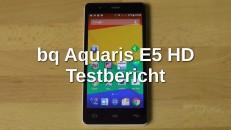 bq Aquaris E5 HD Testbericht
