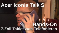 Acer Iconia Talk S  Hands-On