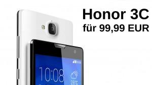 Honor 3C 99,99 EUR