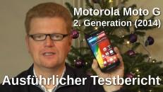 Motorola Moto G 2. Generation Testbericht