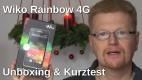 Wiko Rainbow 4G Unboxing und Kurztest