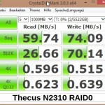 CrystalDiskMark N2310 RAID0