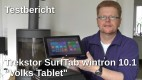 Trekstor SurfTab wintron 10 Volks-Tablet Testbericht