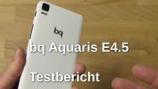 bq Aquaris E4.5 Testbericht