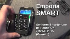 Emporia Smart Seniorenhandy Hands-On