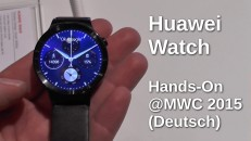 Huawei Watch Hands-On