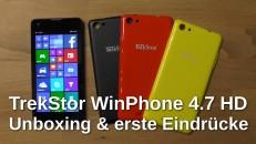 TrekStor WinPhone 4.7 HD Unboxing