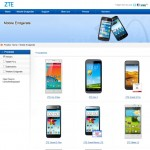 Website ZTE Devices Deutschland 16.3.2015