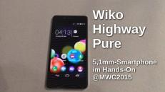 Wiko Highway Pure Hands-On