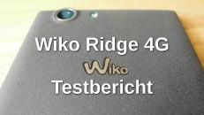 Wiko Ridge 4G Testbericht