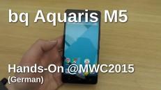 bq Aquaris M5 Hands-On