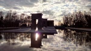 Testbild bq Aquaris E6 - Templo de Debod