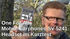 One For All Mobile Earphones Kurztest