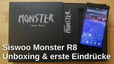 Siswoo Monster R8 Unboxing