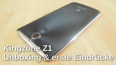 Unboxing Kingzone Z1