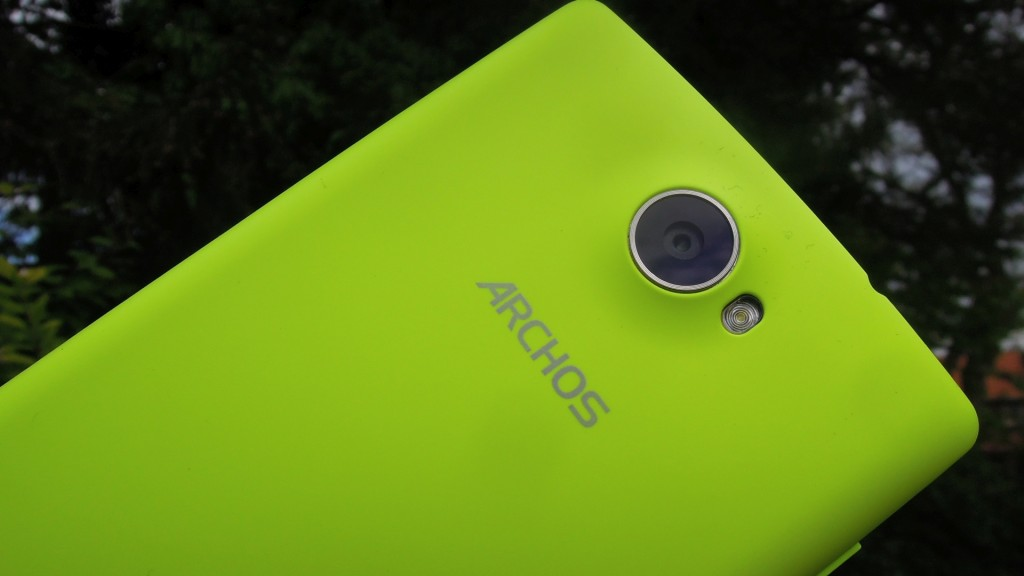 Archos 50 Diamond Detail