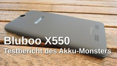 Bluboo X550 Testbericht