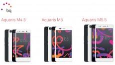bq Aquaris M Serie - M4.5, M5 und M5.5