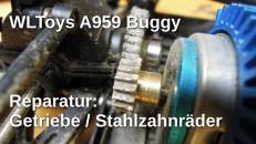 WLToys A959 Reparatur Getriebeschaden
