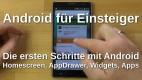 Android für Einsteiger - Homescreen, Apps, Widgets usw.