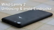 Wiko Lenny 2 Unboxing