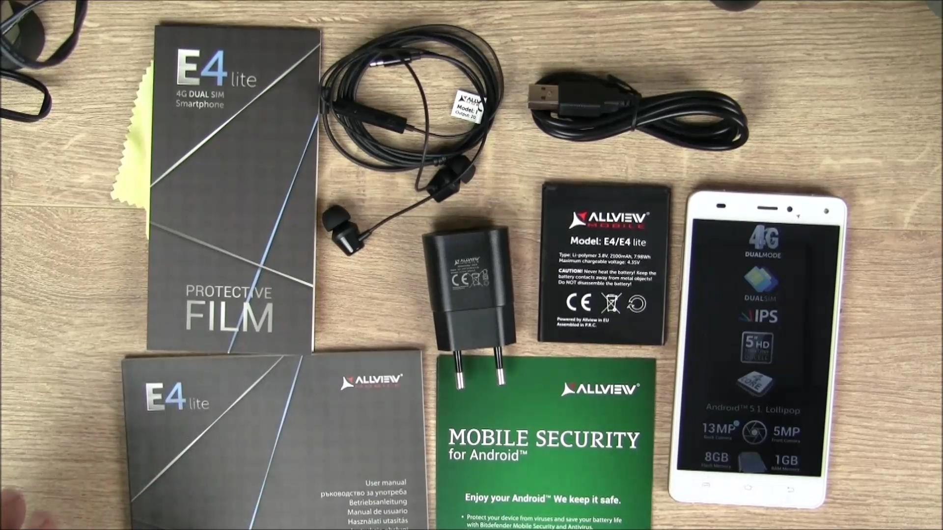 Allview E4 Lite Packungsinhalt