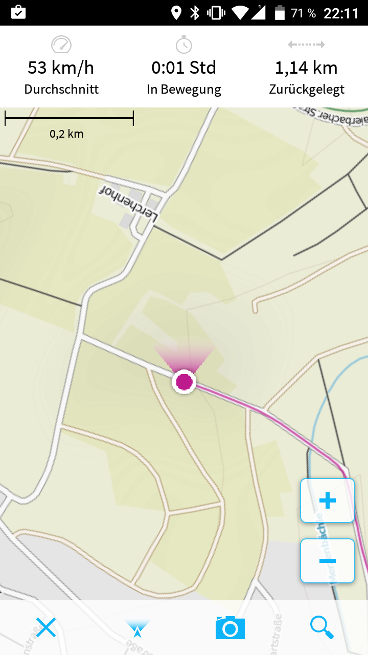 Allview E4 Lite GPS und Kompass