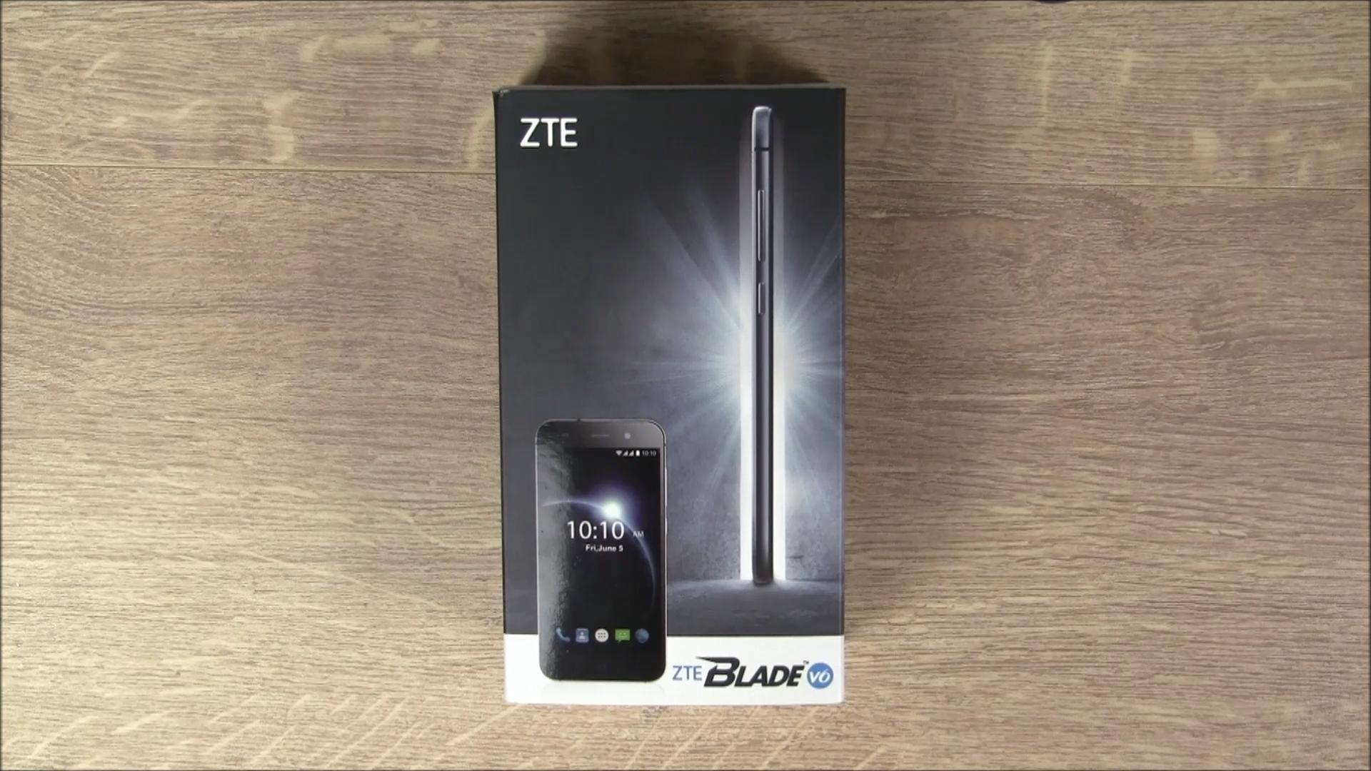 Verpackung ZTE Blade V6