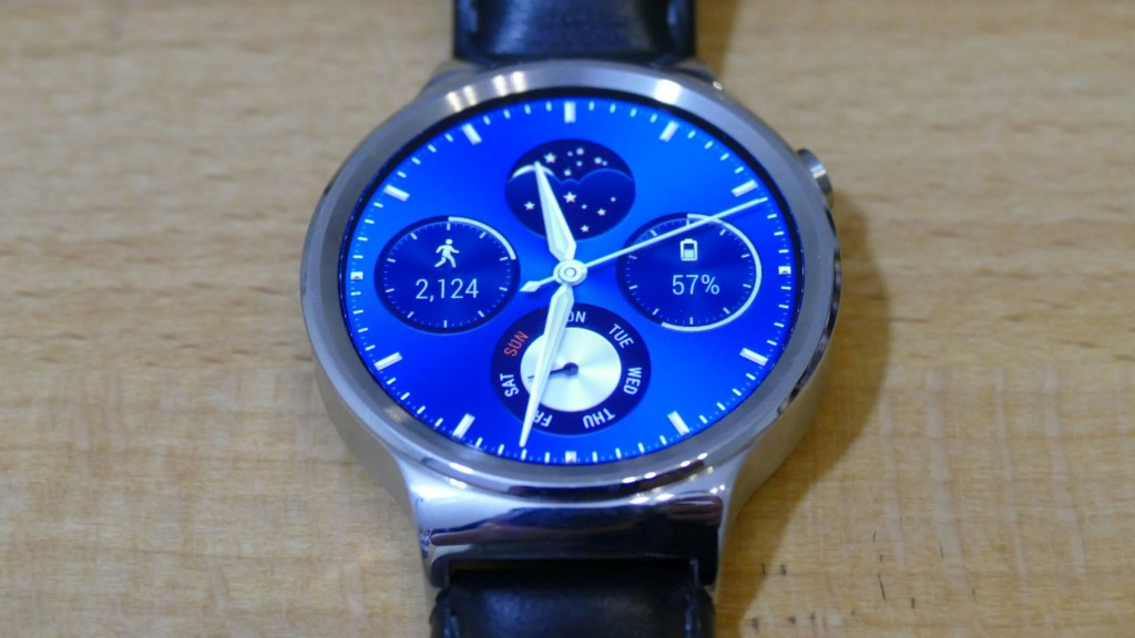 Huawei Watch frontal