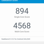 Allview X2 Soul Xtreme - Geekbench 3 - 894 Punkte SingleCore, 4568 Multicore