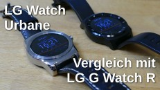 LG G Watch R vs Urbane thumbnail