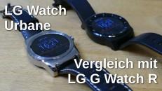 LG G Watch R vs Urbane thumbnail