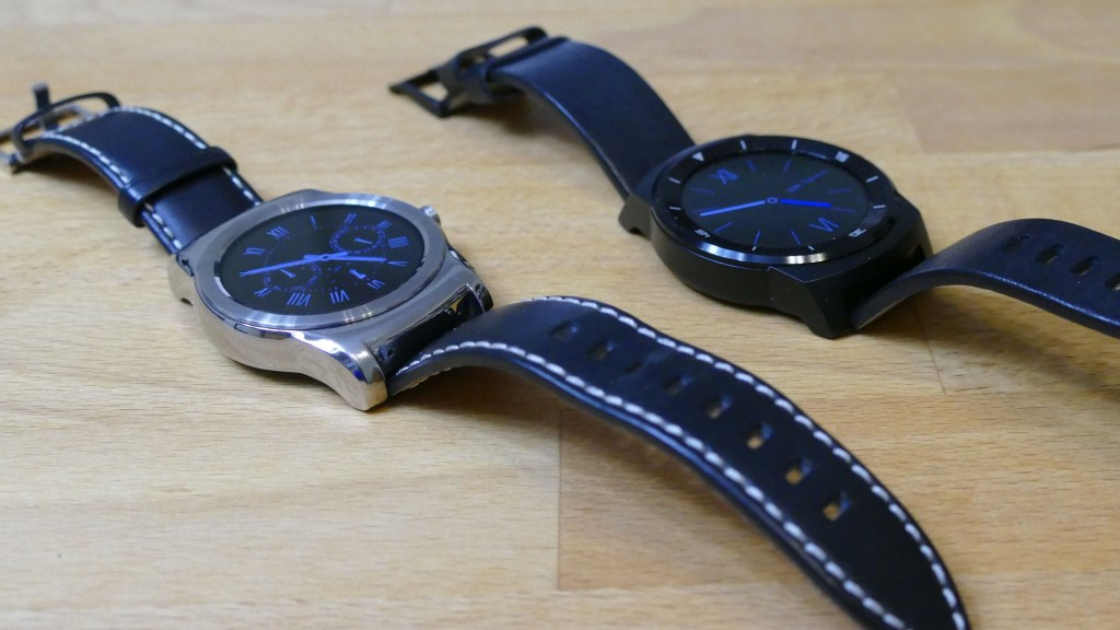 LG Watch Urban, G Watch R