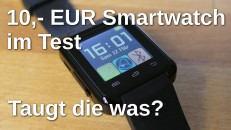 10 EUR Smartwatch im Test