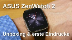 Asus ZenWatch 2 Unboxing