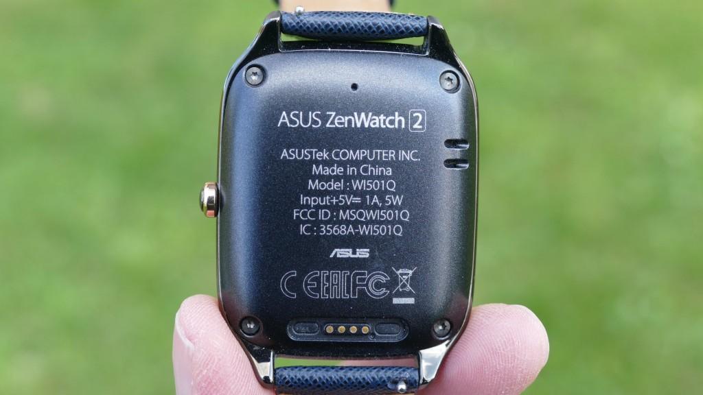 Asus ZenWatch 2 Rückseite