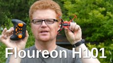 Floureon H101 inverted Quadcopter
